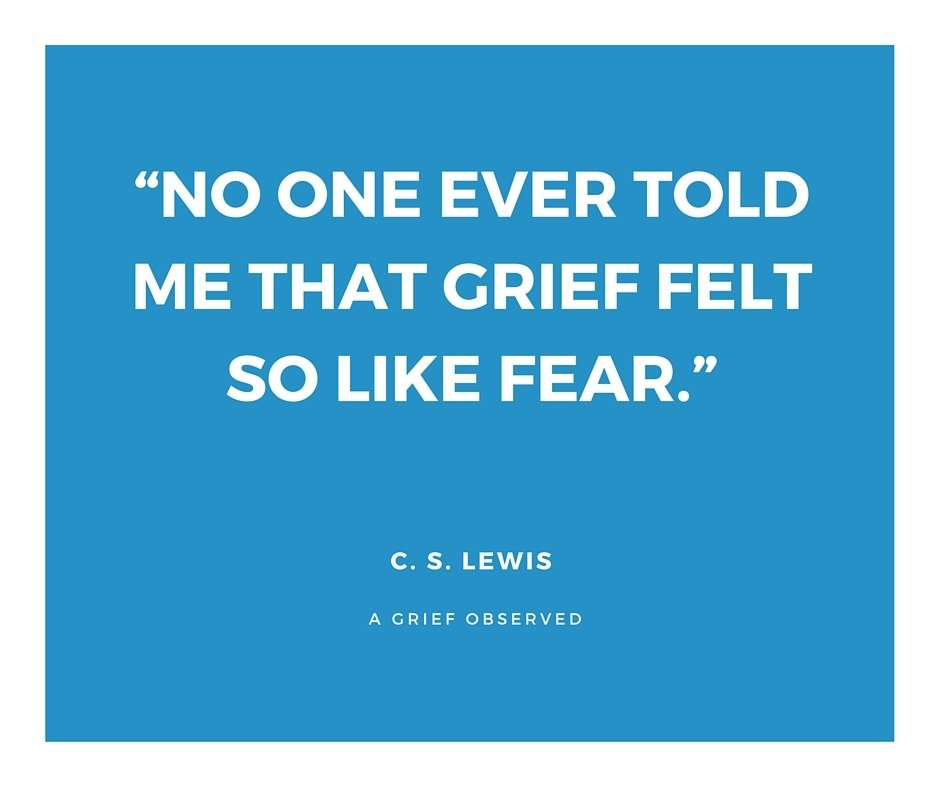 C.S. Lewis-grief quote