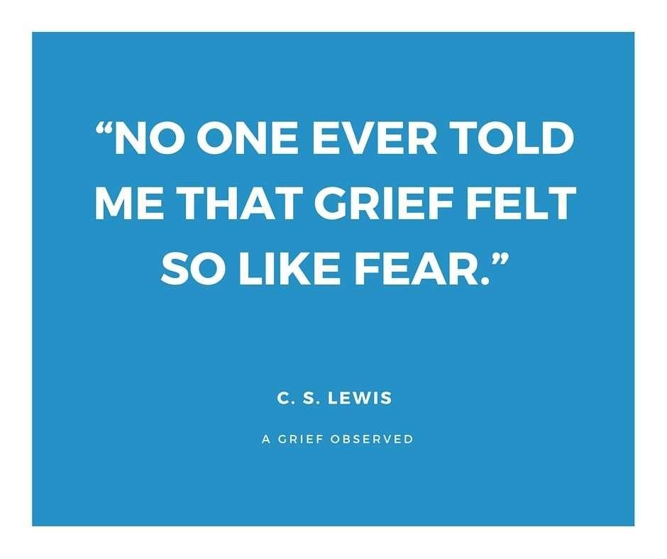 C.S. Lewis-grief quote